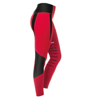 HW Tech Riding Tights Red