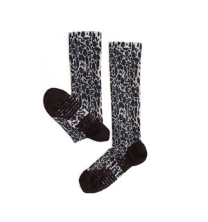 Technical Sports Sock Animal Print