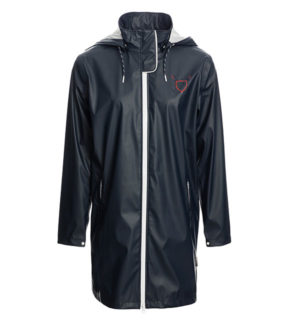 Linny Long Rain Jacket French Navy