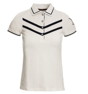 Clara Polo Shirt White