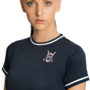 Technical Tee Shirt Navy