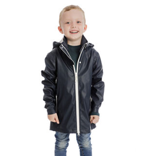 Kids Rain Jacket Dark