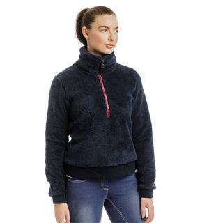 Chiara Cozy ¾ Length Zip Fleece