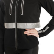 Ladies Reflective H2O Jacket - Black