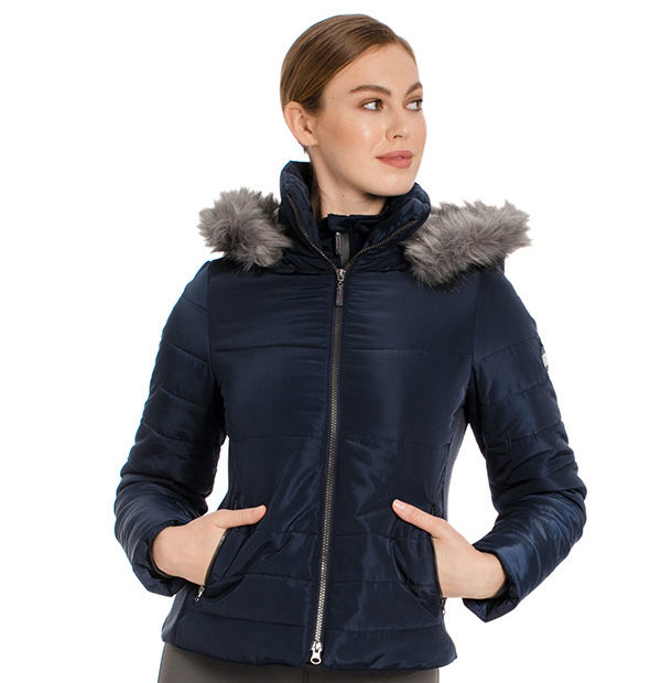 Alexa Padded Jacket Navy