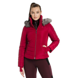 Alexa Padded Jacket Rio Red