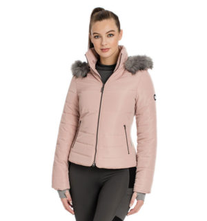 Alexa Padded Jacket Misty Rose