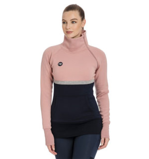 Nova High Neck Misty Rose
