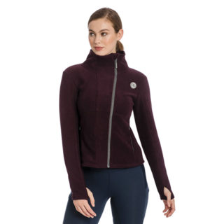 Full Zip Up Fleece Fig