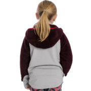 Kids Sherpa Hooded Fig Back