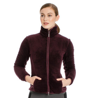 Cardi Cozy Fleece Fig