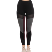HW Fashion Riding Tights Silicon Grip Black / Fig