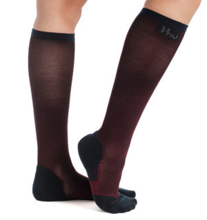 Winter Tech Socks Fig Melange