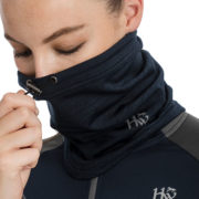 Technical Sport Snood Navy Melange