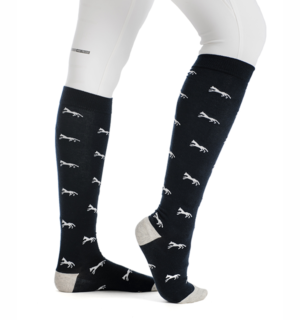 Signature Horse Knee Socks