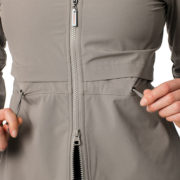 Carrie Riding Jacket Dove Grey