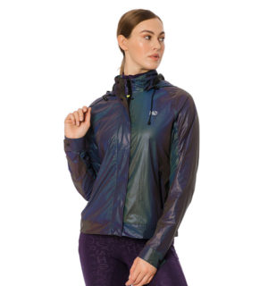Rainbow Reflective Jacket Purple