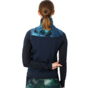 Carrie Riding Gilet Green/Navy Tie Dye