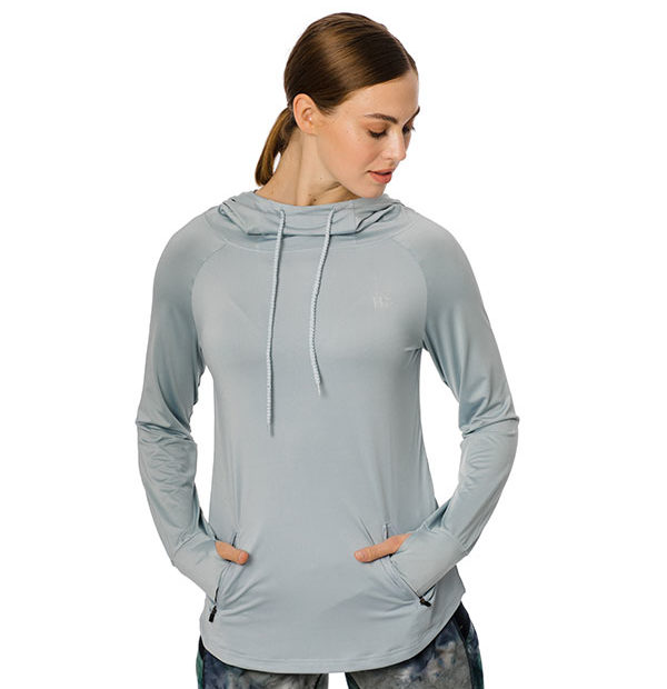 Technical Hooded Top Blue