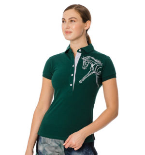 Flamboro Polo Green